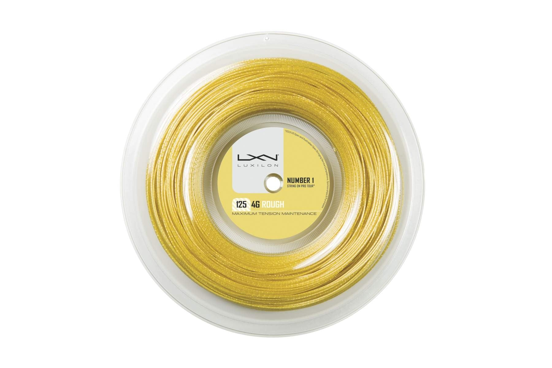 Wilson Luxilon 4G Rough 125 Reel Tennis String - atr-sports