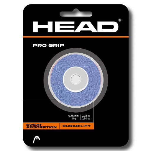 Head Pro Grip in Blue 3 pack - atr-sports