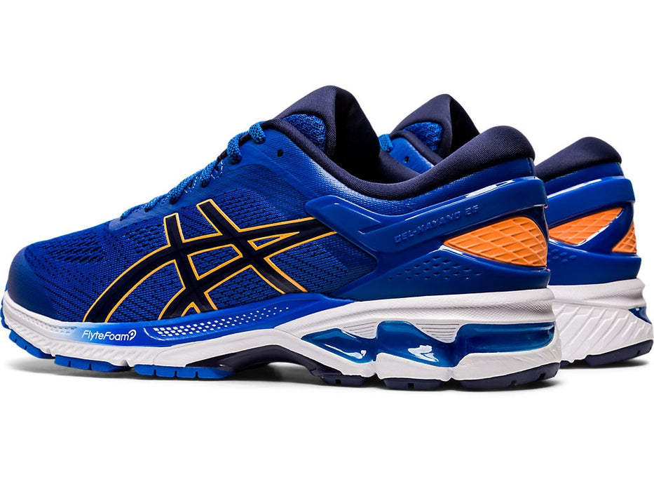Asics Men's Gel-Kayano 26 Running Shoes in Tuna Blue/Peacoat