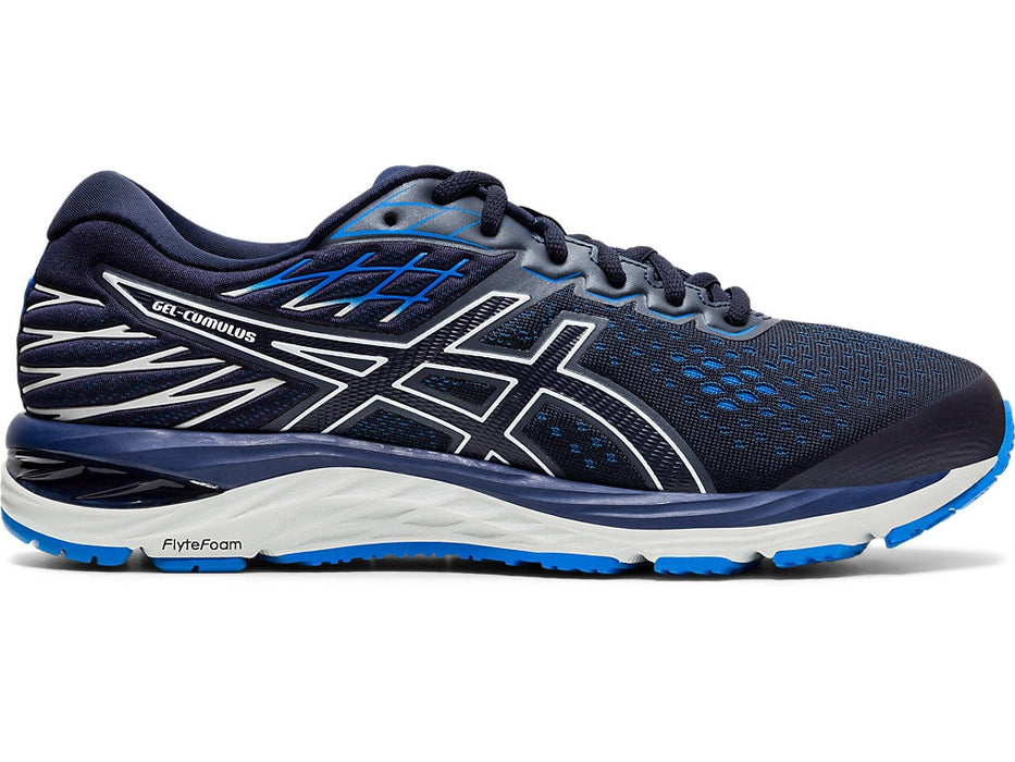 Asics Men's Gel-Cumulus 21 (4E) Running Shoes in Midnight/Midnight