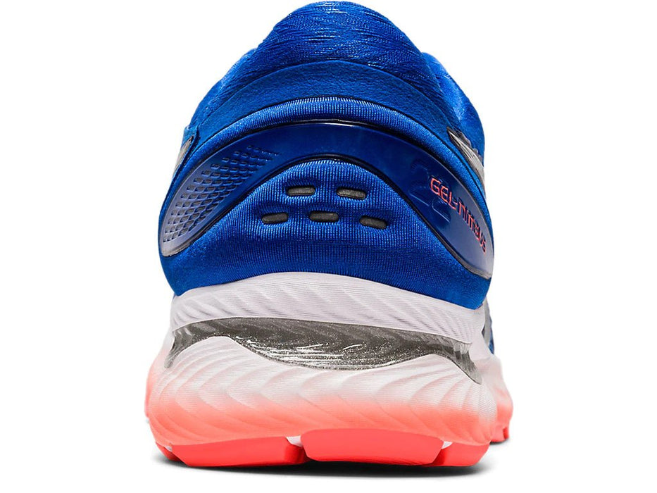 Asics Men's Gel-Nimbus 22 Running Shoes in Tuna Blue/Pure Silver