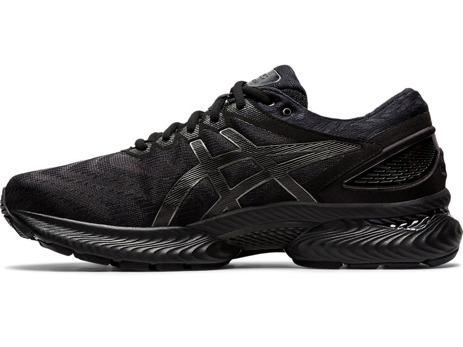 Asics Men's Gel-Nimbus 22 Running Shoes in Black