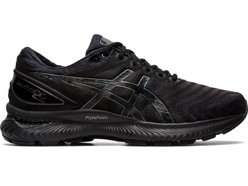 Asics Men's Gel-Nimbus 22 Running Shoes in Black/Black