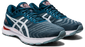 Asics Men's Gel-Nimbus 22 Running Shoes in Light Steel/Magnetic Blue