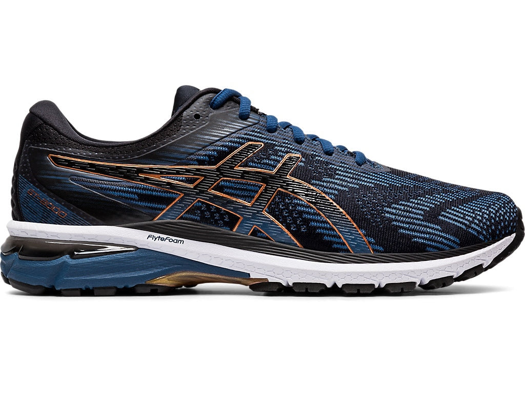 Asics Men's GT-2000 8 (4E) Running Shoes in Grand Shark/Black - atr-sports