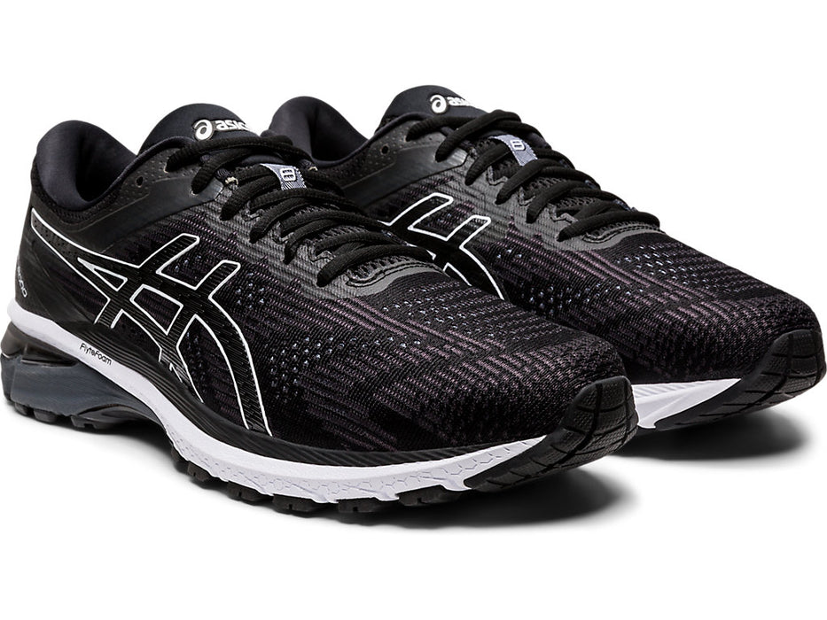 Asics Men's M. GT-2000 8 Running Shoes in Black/White - atr-sports