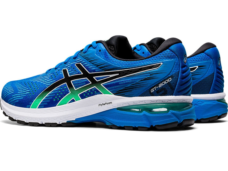 Asics Men's M. GT-2000 8 Running Shoes in Electric Blue/Black - atr-sports