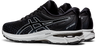 Asics Men's GT-2000 8 Knit Running Shoes in Black/Black