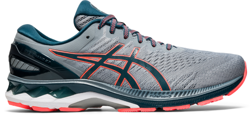 Asics Men's Gel-Kayano 27 Running Shoes in Sheet Rock/Magnetic Blue