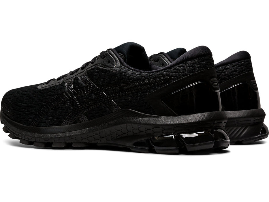 Asics Men's GT-1000 9 (2E) Running Shoes in Black/Black