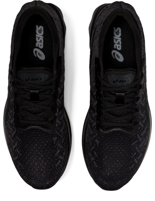 Asics Men's Dynablast Running Shoes in Black/Graphite Grey/Black