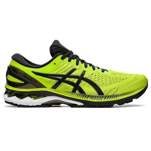 Asics Men's Gel-Kayano 27 Running Shoes in Lime Zest/Black