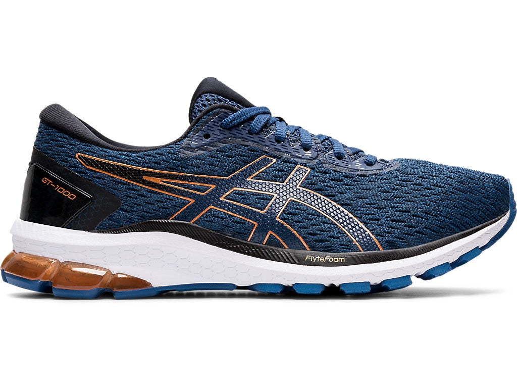 Asics Men's GT-1000 9 (4E) Running Shoes in Grand Shark/Pure Bronze