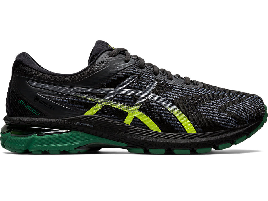 Asics Men's GT-2000 8 G-TX Running Shoes in Graphite Grey/Black