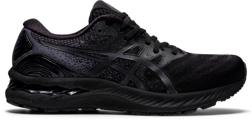 Asics Men's Gel-Nimbus 23 Running Shoes in Black/Black