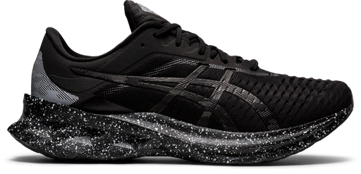 Asics Men's Novablast Running Shoes in Black/Black