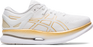 Asics Women's Metaride Running Shoes in White/Pure Gold