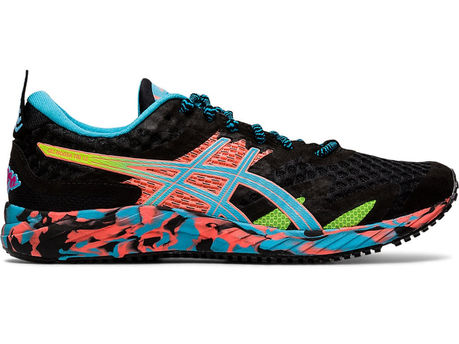 Asics Women's Gel-Noosa Tri 12 Running Shoes in Black/Aquarium