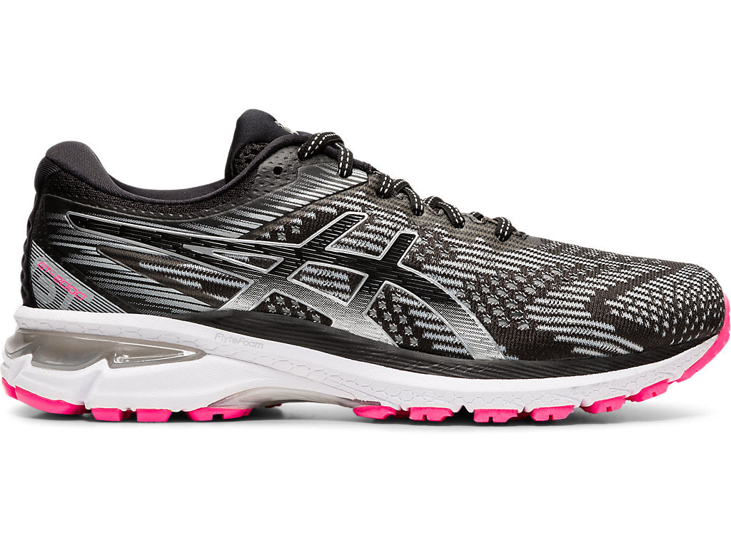 Asics Women's GT-2000 8 Lite-Show Running Shoes in Graphite Grey/Pure Silver