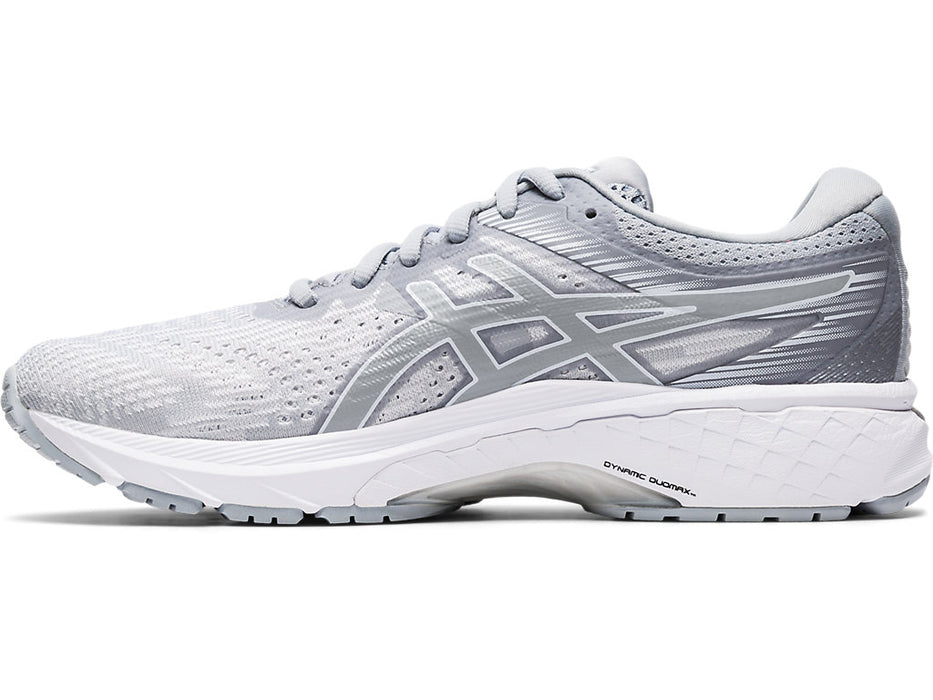 Asics Women's GT-2000 8 Running Shoes in Piedmont Grey/White