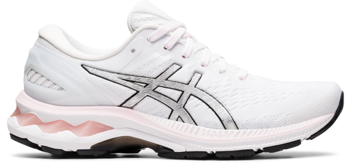 Asics Women's Gel-Kayano 27 Running Shoes in Pink Salt/Pure Silver