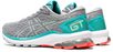 Asics Women's GT-1000 9 Wide (D-Width) Running Shoes in Piedmont Grey/Bio Mint