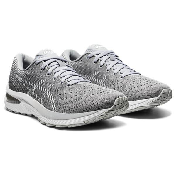Asics Women's Gel-Cumulus 22 Running Shoes in Piedmont Grey/White