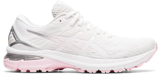 Asics Women's GT-2000 9 Running Shoes in White/Pink Salt
