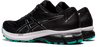 Asics Women's GT-2000 9 Knit Running Shoes in Black/Pure Silver