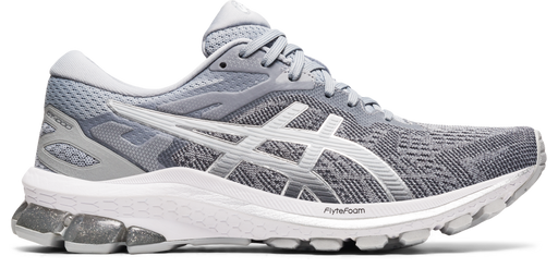 Asics Women's GT-1000 10 Running Shoes in Piedmont Grey/Pure Silver