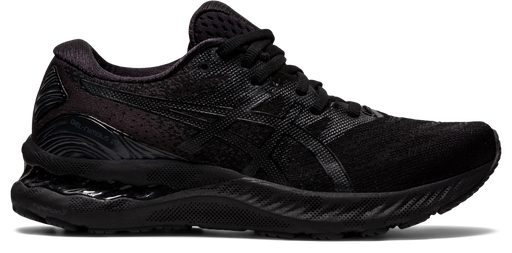 Asics Women's Gel-Nimbus 23 Running Shoes in Black/Black