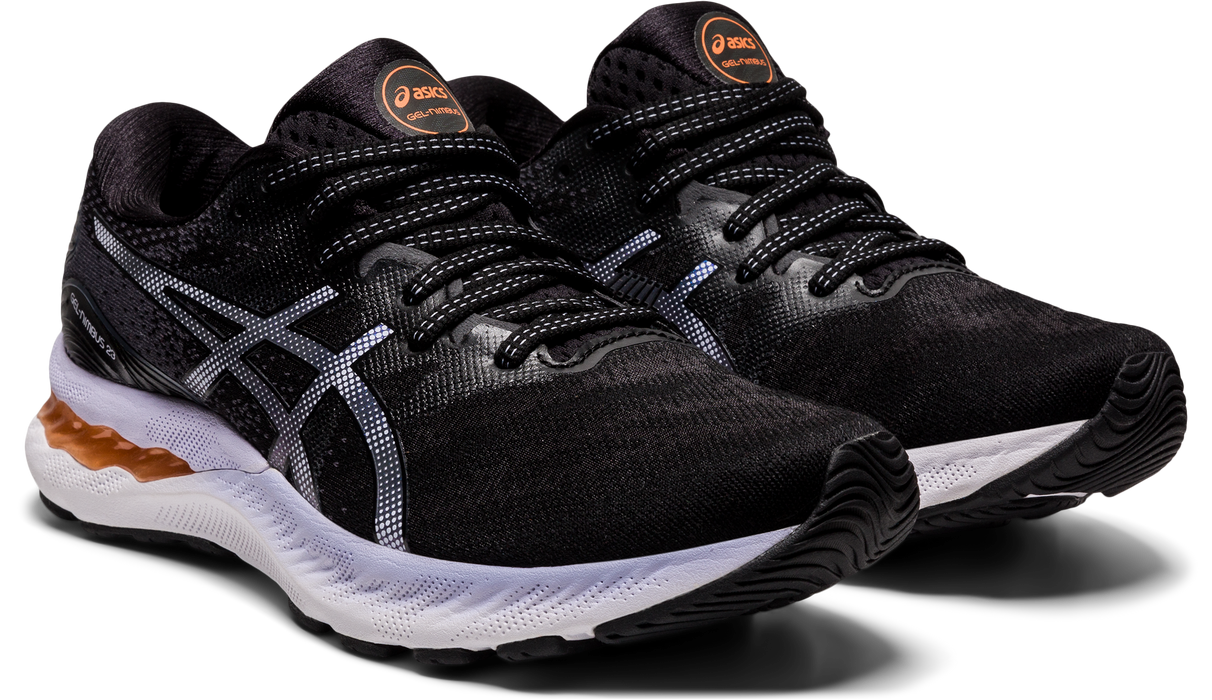 Asics Women's Gel-Nimbus 23 Running Shoes in Black/Carrier Grey
