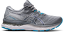 Asics Women's Gel-Nimbus 23 Running Shoes in Sheet Rock/White