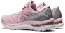 Asics Women's Gel-Nimbus 23 Running Shoes in Pink Salt/Pure Silver