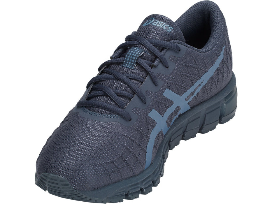 Asics Men's Gel-Quantum 180 4 Running Shoes in Tarmac/Steel Blue - atr-sports
