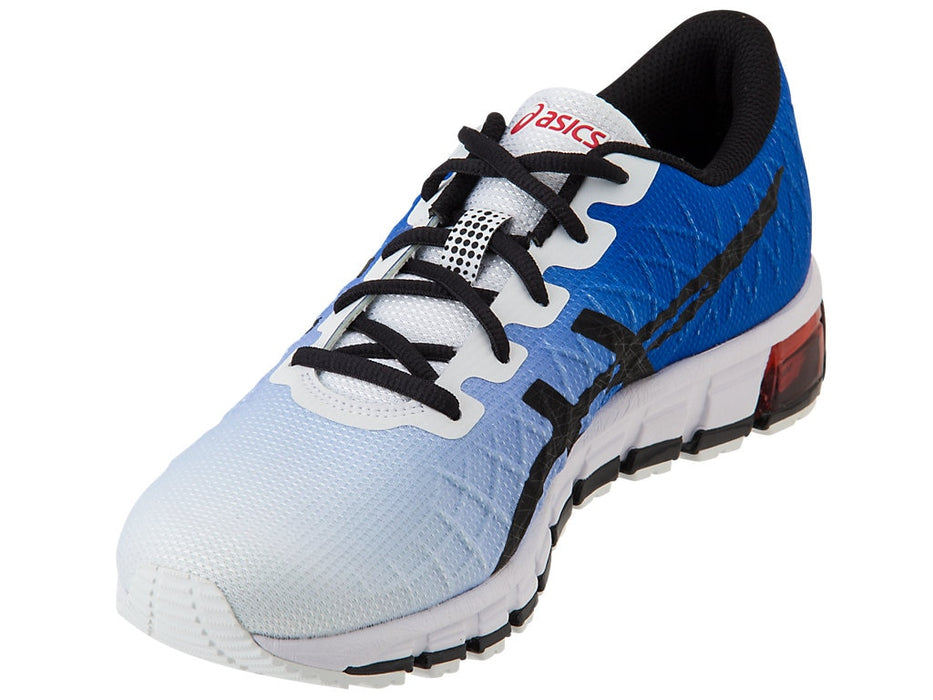 Asics Men's Gel-Quantum 180 4 Runing Shoes in White/Black - atr-sports