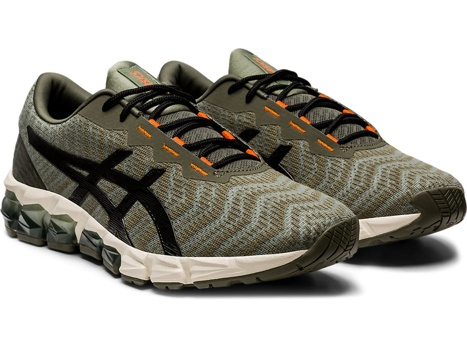 Asics Men's Gel-Quantum 180 5 Running Shoes in Running Shoes in Mantle Green/Black