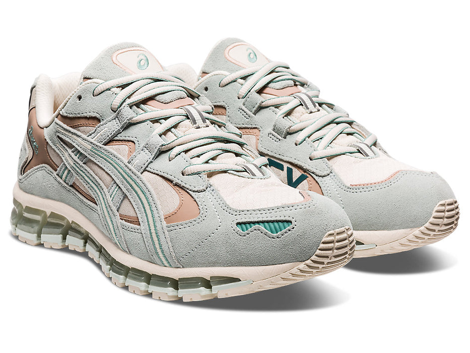 Asics Men's Gel-Kayano 5 360 GTX Running Shoes in Oatmeal/Lichen Rock - atr-sports