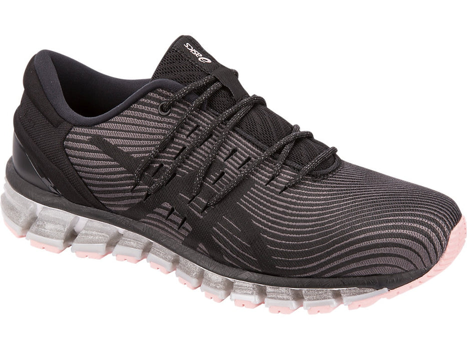 Asics Women's Gel-Quantum 360 4 Running Shoes in Carbon/Black - atr-sports