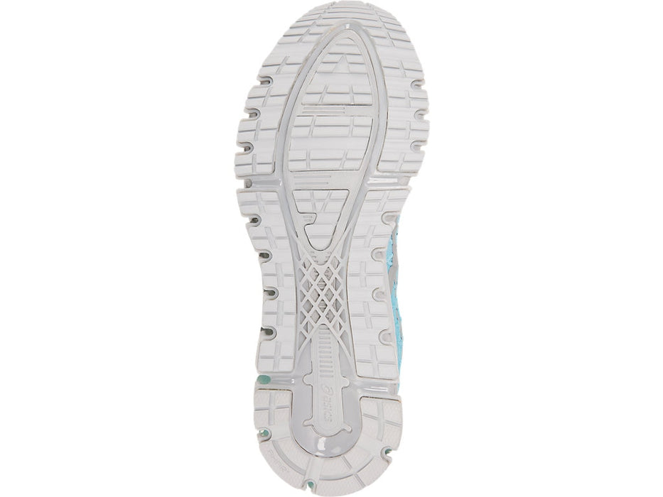 Asics Women's Gel-Quantum 180 4 Running Shoes in Ice Mint/Stone Grey