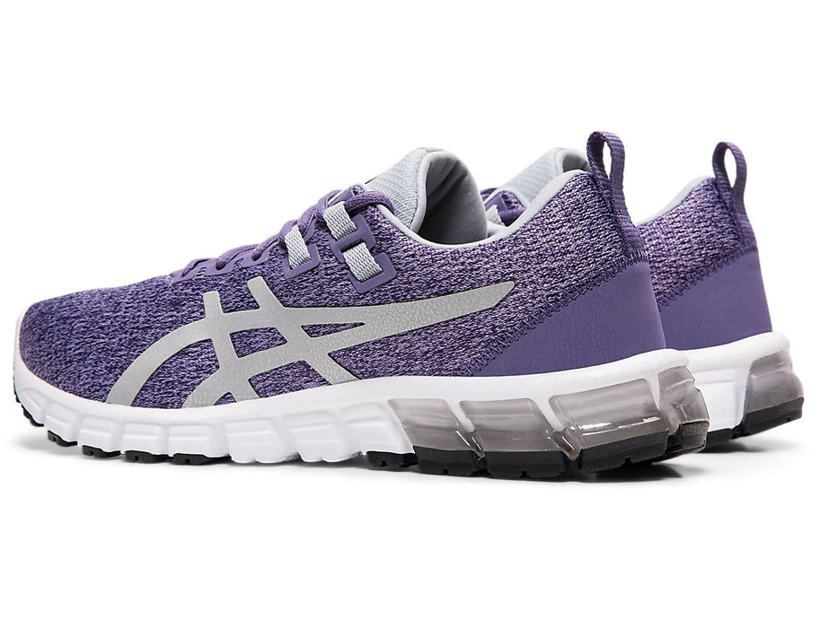 Asics Women's Gel-Quantum 90 Running Shoes in Dusty Purple/Silver - atr-sports