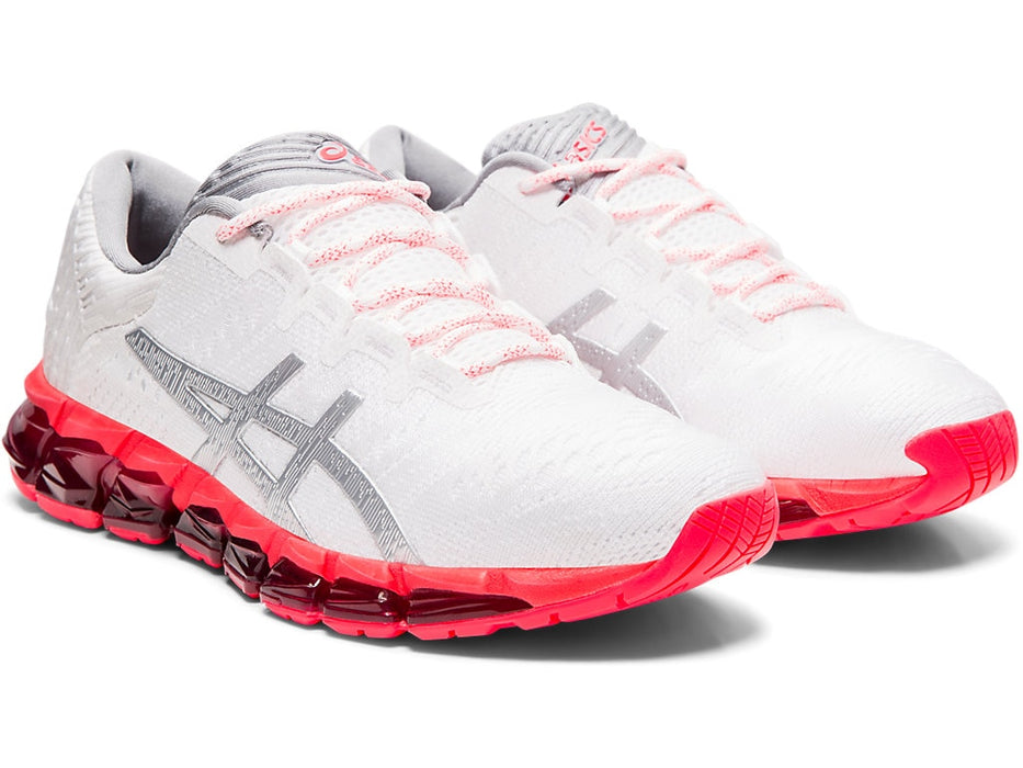 Asics Women's Gel-Quantum 360 5 JCQ Runing Shoes in White/Silver - atr-sports