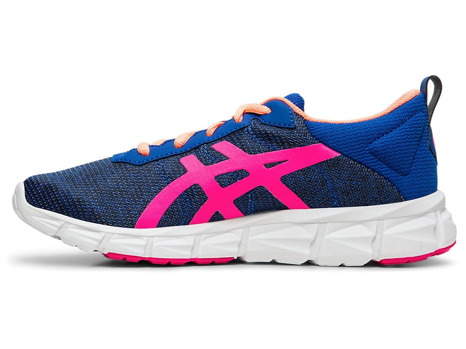Asics Kid's Gel-Quantum Lyte Running Shoes in Asics Blue/Pink Glo - atr-sports