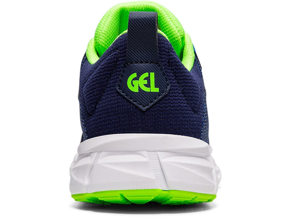 Asics Kids Gel-Quantum Lyte Lace Running Shoes in Imperial/Green Gecko - atr-sports
