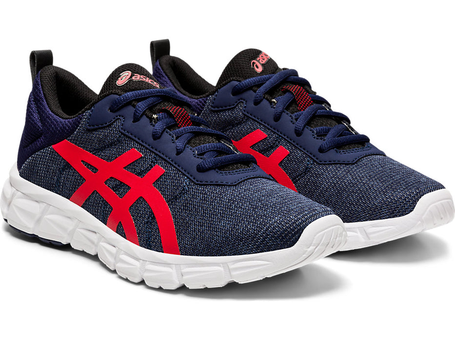 Asics Kid's Gel-Quantum Lyte Running Shoes in Peacoat/Classic Red