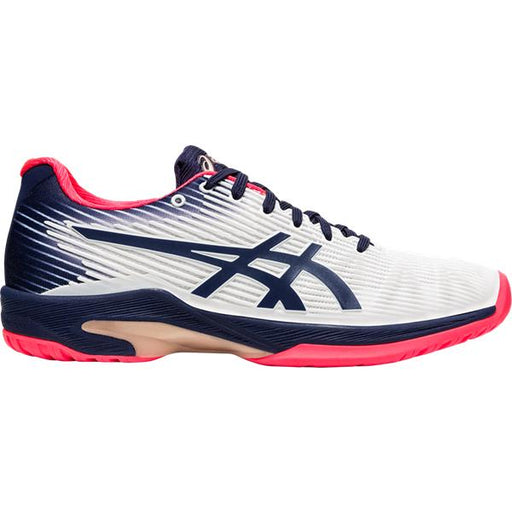 Asics Women's Gel-Solution Speed FF Tennis Shoes in White/Peacoat