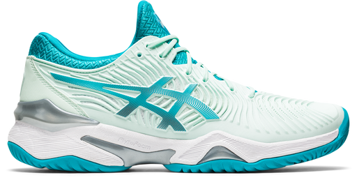 Asics Women's Court FF 2 Tennis Shoes in Bio Mint/Lagoon