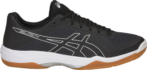 Asics Men's Gel-Tactic Indoor Court Shoes in Black/Silver