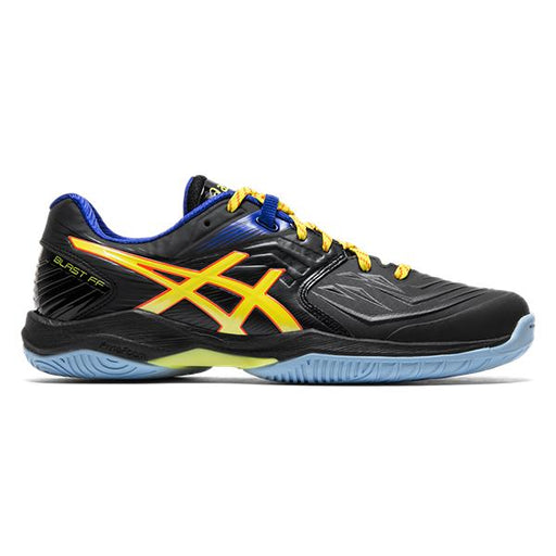 Asics Men's Gel Blast FF Indoor Court Shoes in Black/Sour Yuzu
