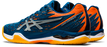 Asics Men's Court Control FF Indoor Court Shoes in Mako Blue/Pure Silver